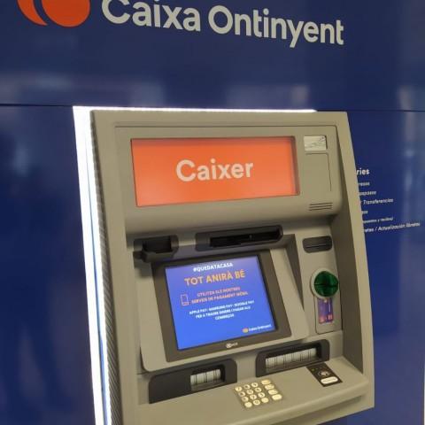 Caixa Ontinyent no cobrarà comissió per retirada d'efectiu a clients d'altres bancs