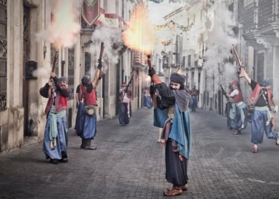 Festes de Castalla, imatge d'arxiu