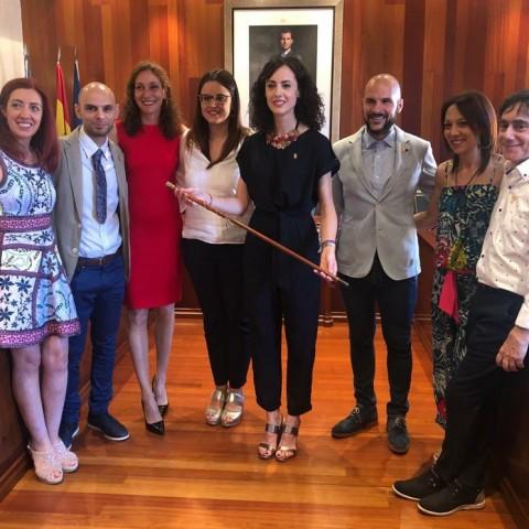 Integrants del govern socialista de Cocentaina.