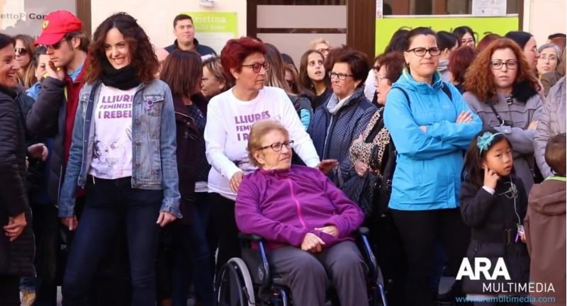 Celebració dia de la Dona a Cocentaina en 2019