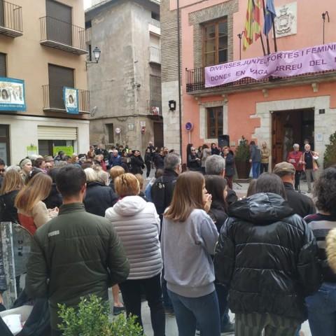 El vent no frena les dones a Cocentaina