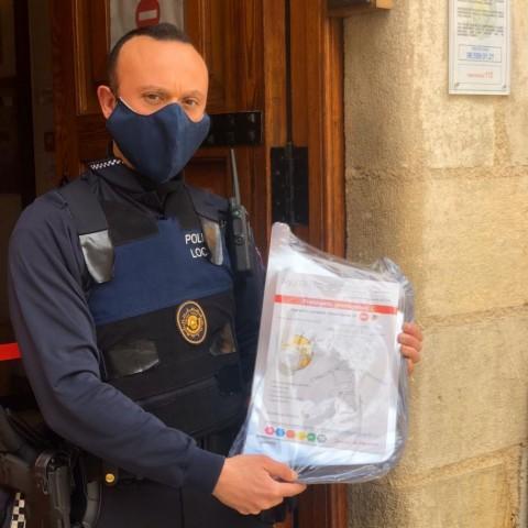 Gráficas Agulló aporta pantalles protectores per a combatre el Coronavirus