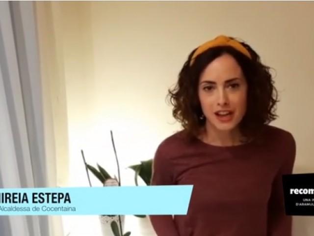 L'alcaldessa de Cocentaina, Mireia Estepa Olcina./ AM