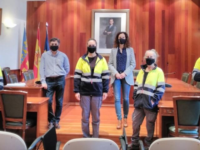 L'Ajuntament de Cocentaina contracta 4 persones amb les ajudes d'AvalemExperiència