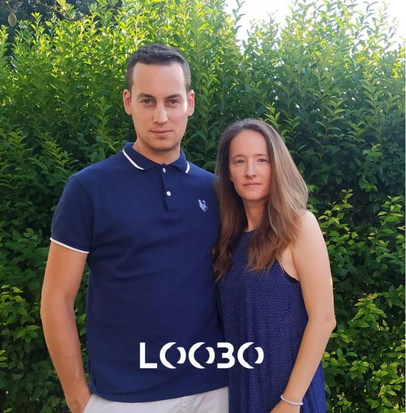 Aarón Moncho i Andrea Pérez, creadors de Loobo.