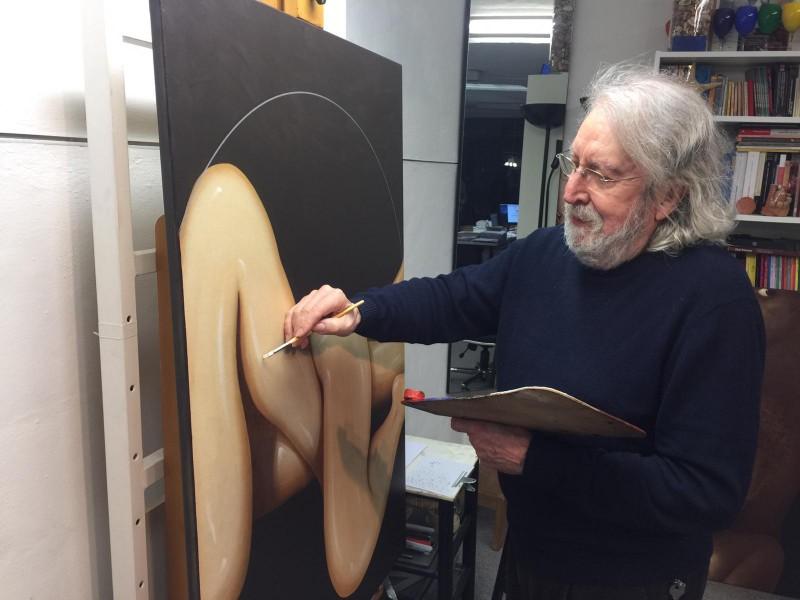 Antoni Miró al Mas Sopalmo / AM