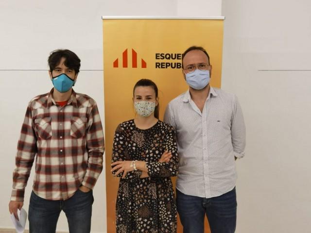 Joanvi Sellés, Maria Pérez Company i Josep Barberà / ERPV