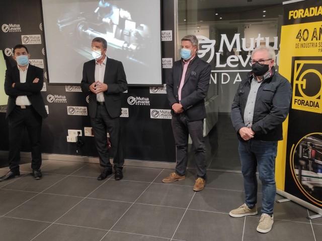 Acte de presentació de l'exposició Foradia 40 anys de insdustria sostenible  / AM
