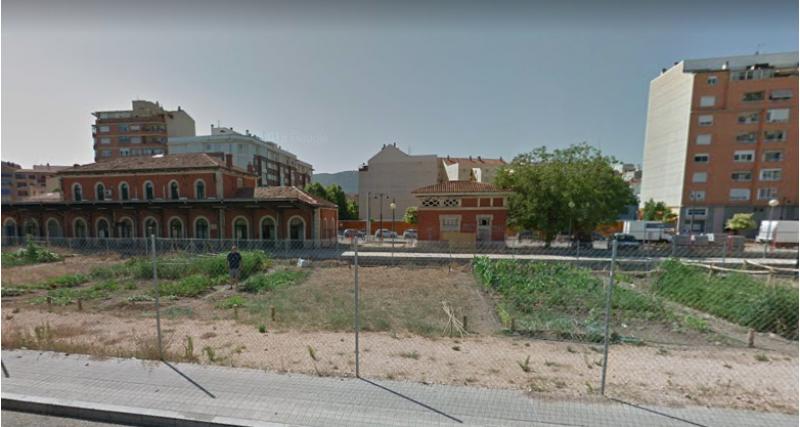 Horts socials situats als voltants de l'Estació de Renfe / Ajuntament d'Alcoi