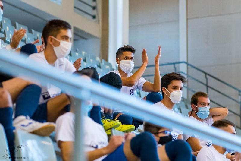 La mascareta, obligatoria també per a qui practica esport / Regidoria d'Esports d'Alcoi