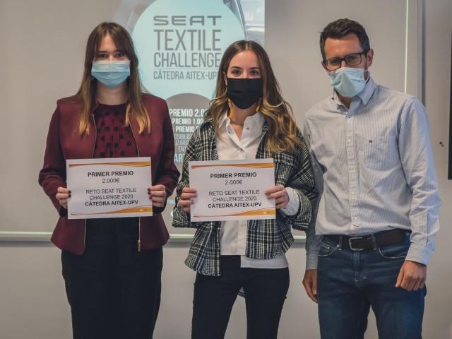 Teixit biodegradable en els cotxes de lloguer, projecte guanyador del repte SEATTextilChallenge