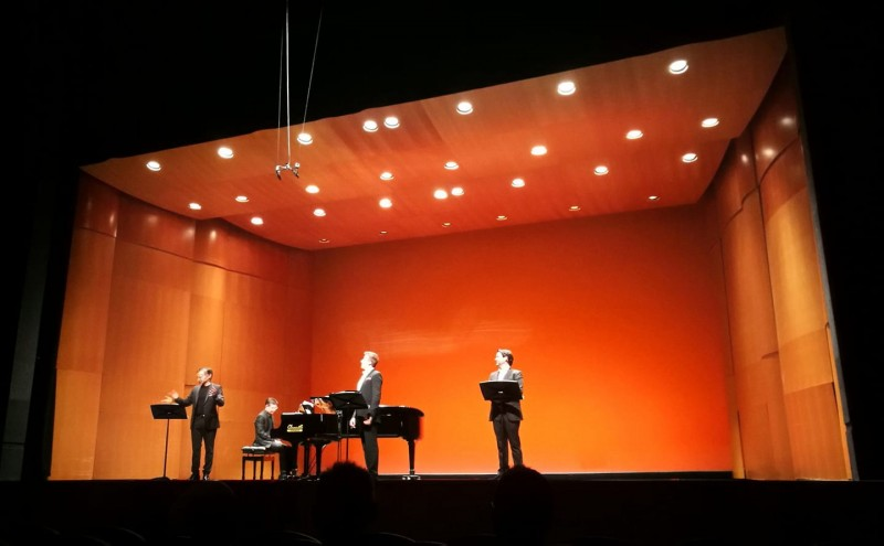 Concert 'Los tres tenores' al Teatre Calderón d'Alcoi./ Jordi Linares