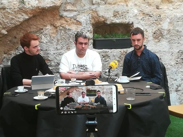 Presentació amb Borja Clemente, Aitor Pla i Javier Sansalvador / Ponts d'Igualtat