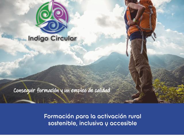 Imatge d'Indigo circular