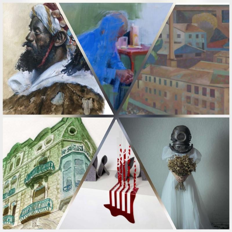 Detall de sis de les obres adquirides