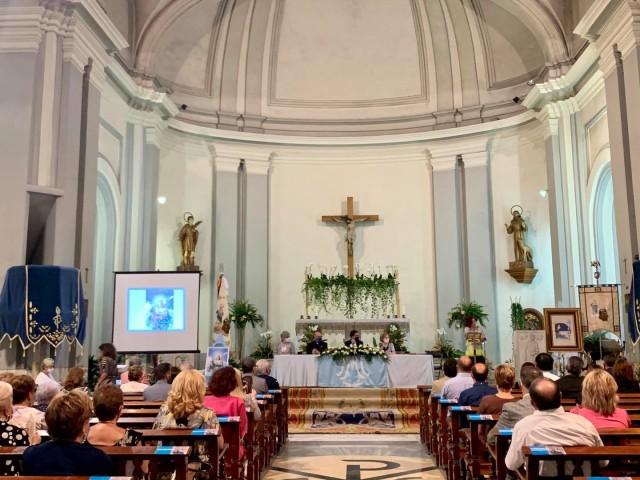 Acte a Sant Maure. Tradicionalment se celebra al Rotonda del Círculo Industrial / Ajuntament d'Alcoi