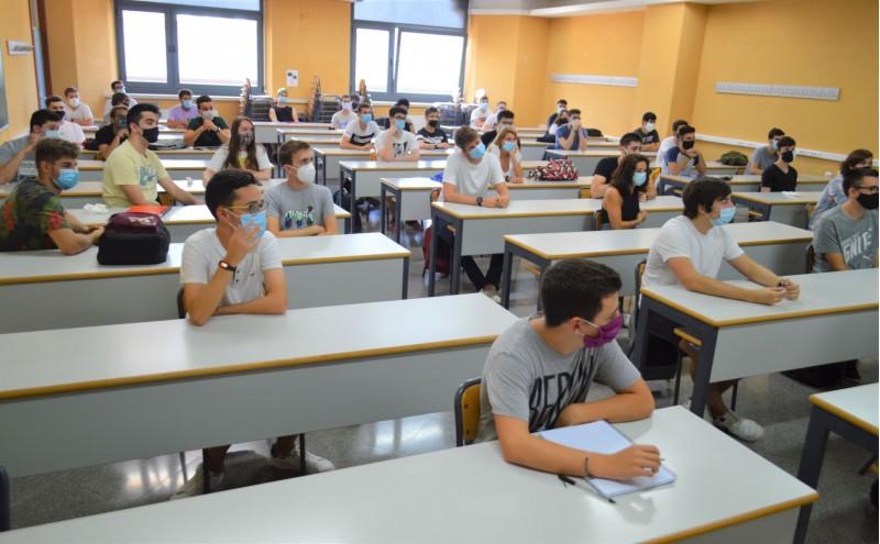 Alumnes de l'UPV