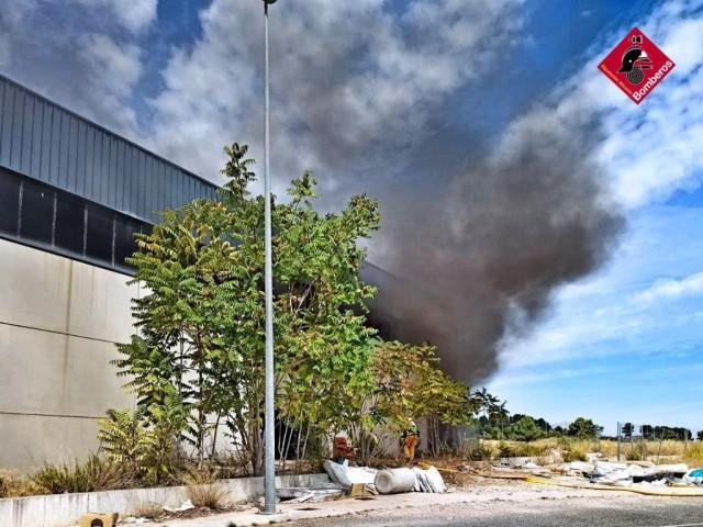Imatges facilitades pels bombers / AM