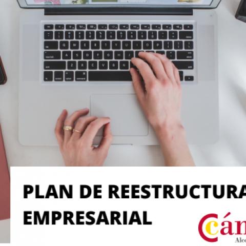 Cartell del Pla de Reestructuració Empresarial