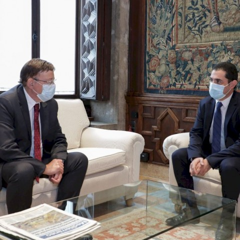 Reunió entre Ximo Puig i Toni Francés