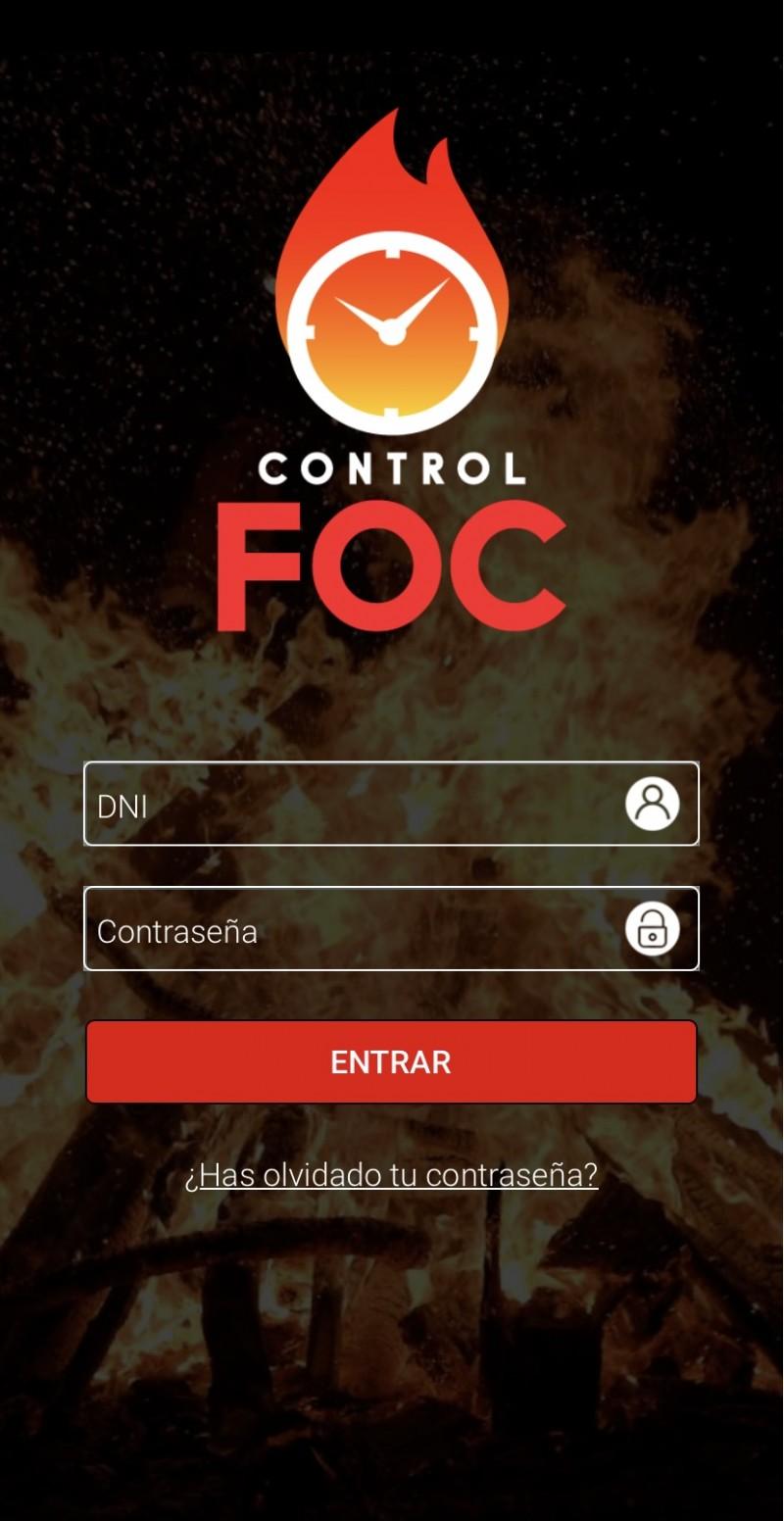 Aplicació Control Foc