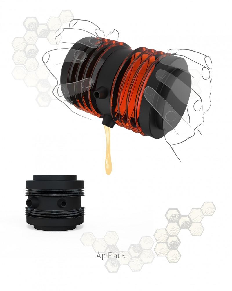 'ApiPack', l'innovador envàs de mel