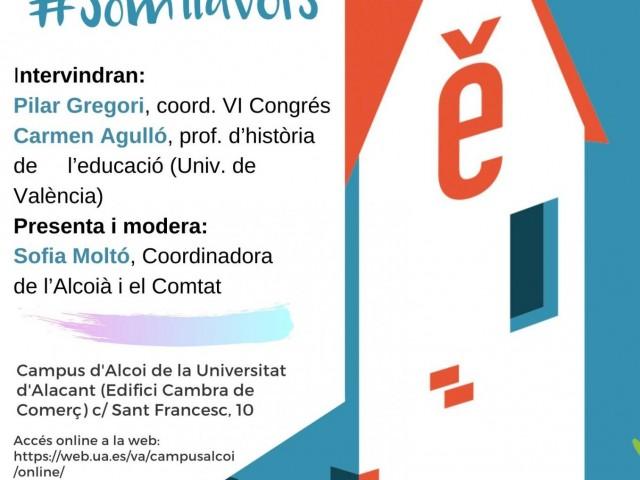 Alcoi acull la presentació del 6é Congrés d'Escola Valenciana