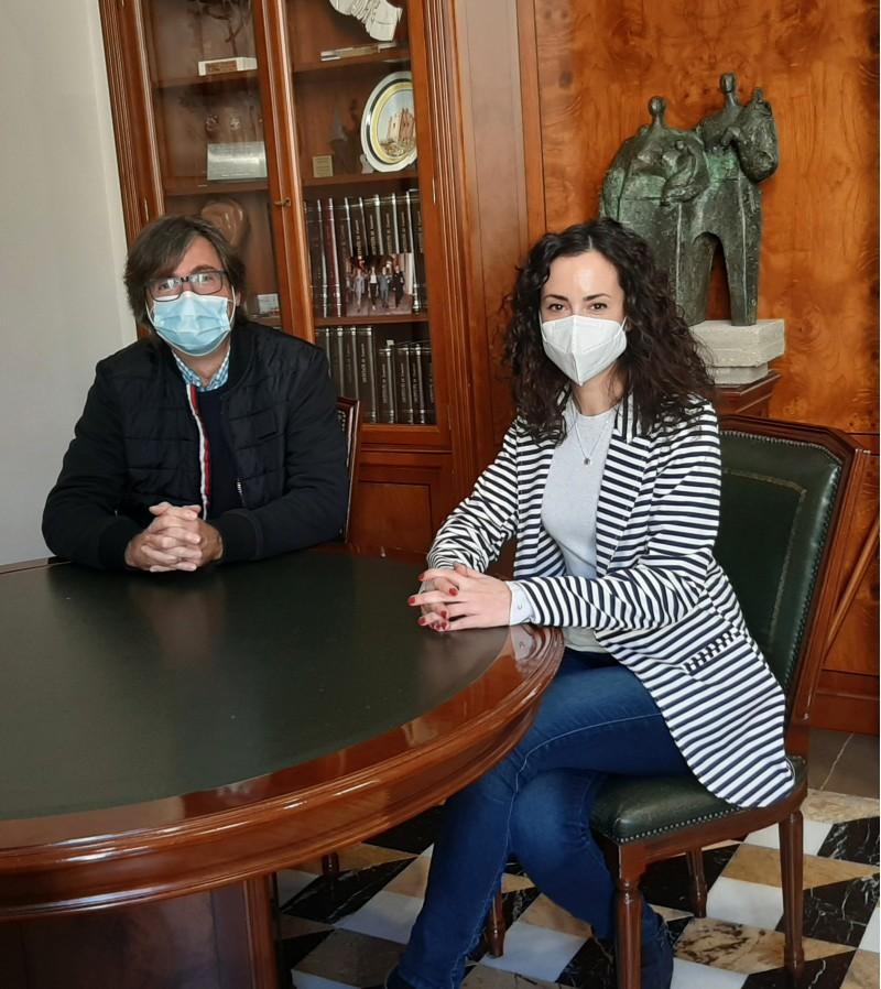 José Luis Todolí i Mireia Estepa / Ajuntament de Cocentaina
