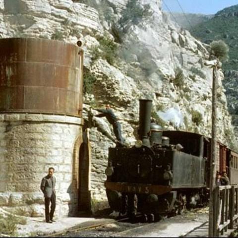 Els estudiants del Pare Arques viatgen amb el Tren dels Anglesos
