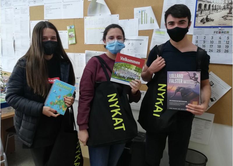Estudiants participants de l'IES Pare Vitòria / Imatge facilitada per l'IES