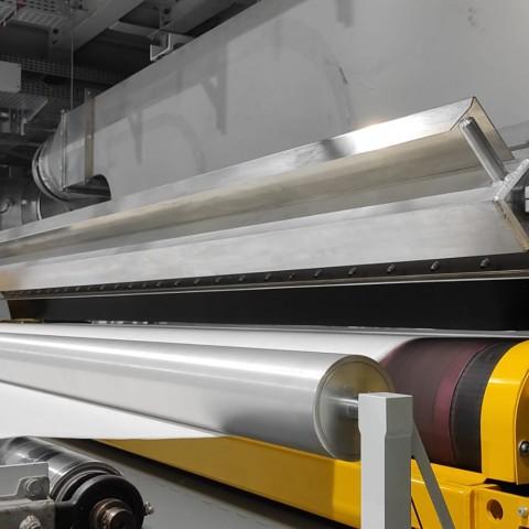Part de la línia de fabricació del meltblown / AM