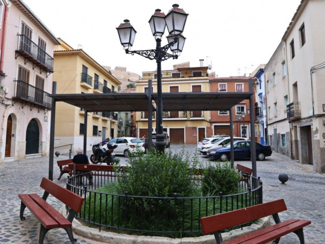 Plaça de Dalt de Petrer. Imatge de Petrer Turisme.