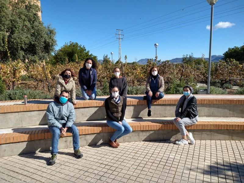 Alumnat de Turisme / IES Serra Mariola
