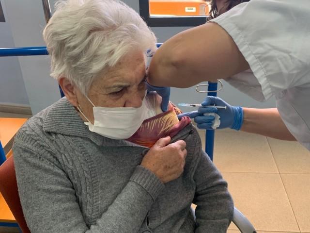 La vacunació arriba al centre de dia Benicadell de Muro