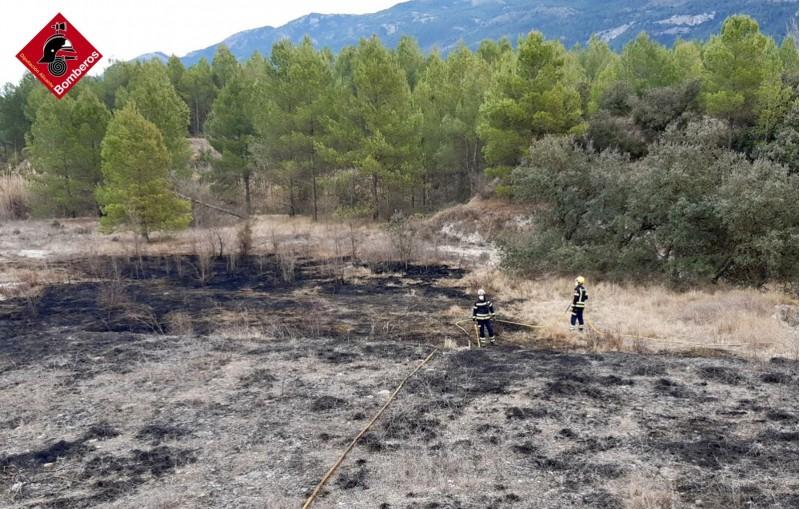 Imatge facilitada pels bombers / AM
