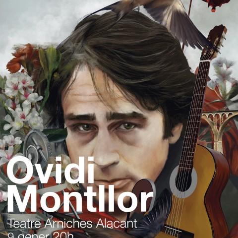 Cartell promocional del concert d'Alacant