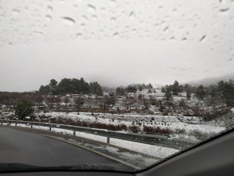 La carretera del Revolcat, aquest 8 de gener
