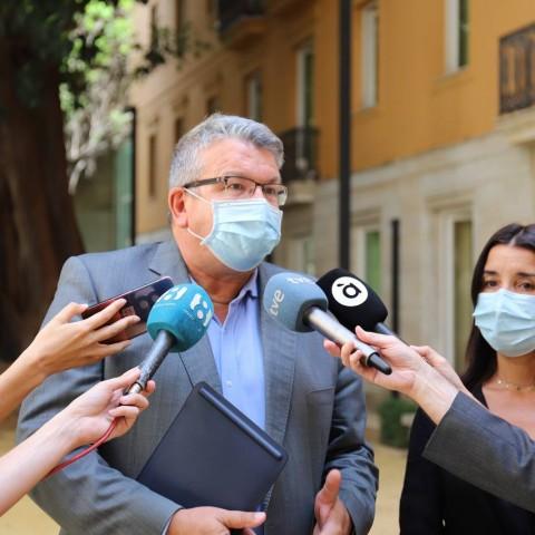 Fernando Llopis, portaveu de Sanitats en el grup parlamentari de Cs a les Corts