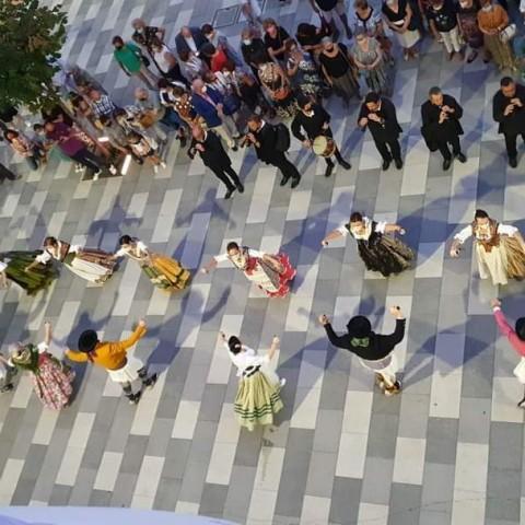 Dansà d'Alcoi, de danses Carrascal en el passat dia de la patrona la Verge dels Lliris / Imatge de Danses Carrascal