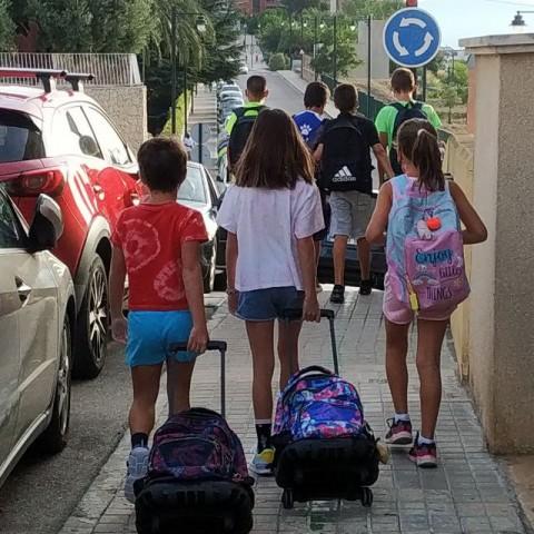 Comença un nou curs escolar per a més de 18.000 joves a l'Alcoià i Comtat