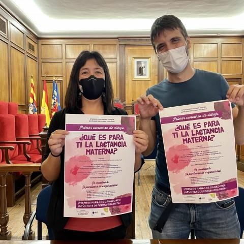 Teresa Sanjuan i Héctor Climent / Ajuntament d'Alcoi