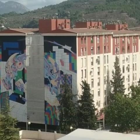 L'UrbanSkillsconverteix Alcoi en un museu a l'aire lliure d'art urbà