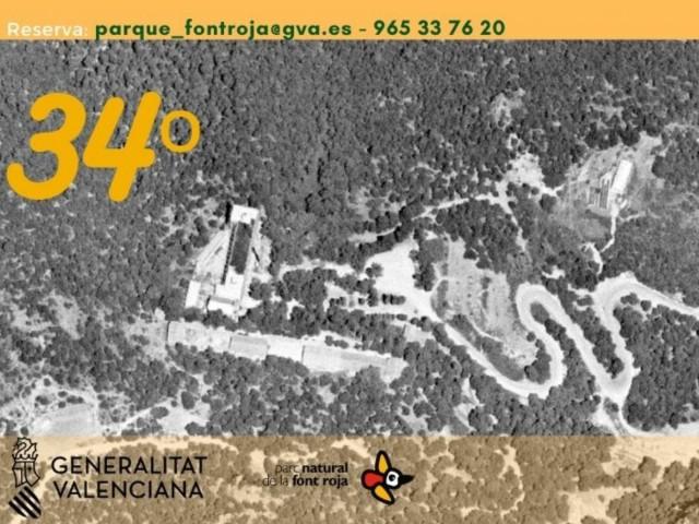 Nova ruta a la Font Roja per a celebrar el 34 aniversari del parc