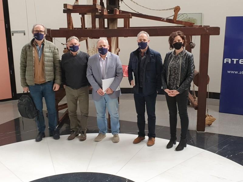 Javier L. Silvestre, Pepe Serna, Pau Bernabeu, Pablo Díaz i Salomé Beneyto / ATEVAL