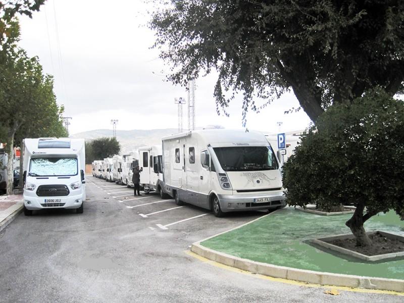 Àrea d'autocaravanes a Castalla / Podem