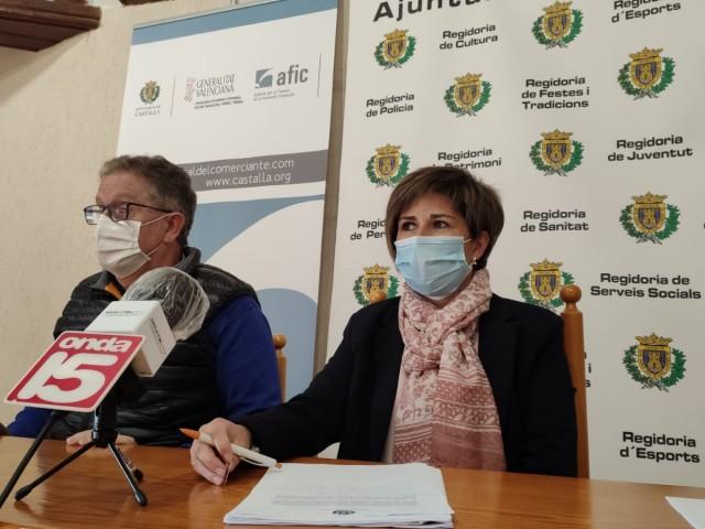 Antonio Bernabeu i Maite Gimeno / Ajuntament de Castalla