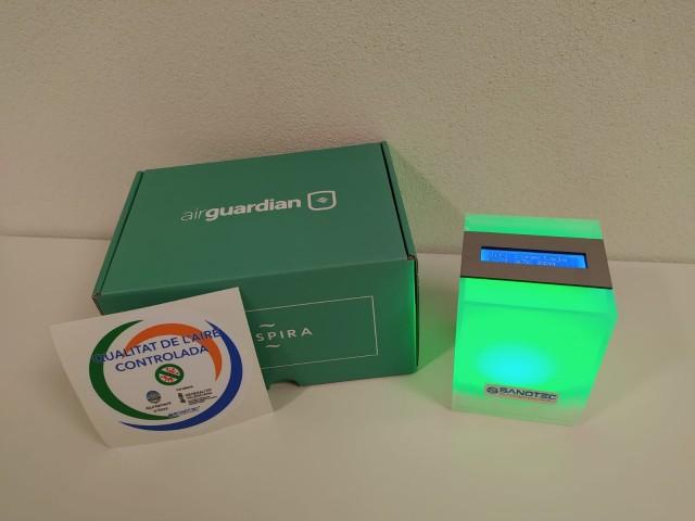 L'Ajuntament d'Alcoi facilita marcadors de CO2 a l'hostaleria