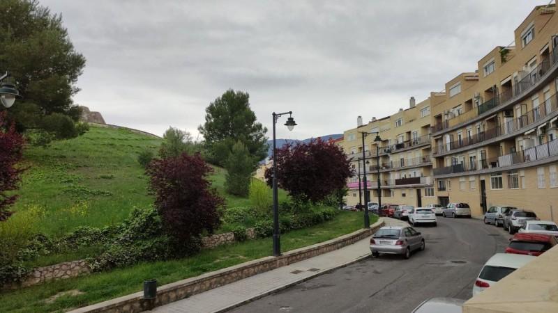 El carrer Músic Gonçal Blanes, zona on estan els aparcaments