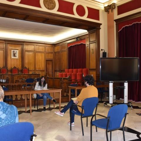 Primera mesa creada per fer seguiment dels precs / Ajuntament