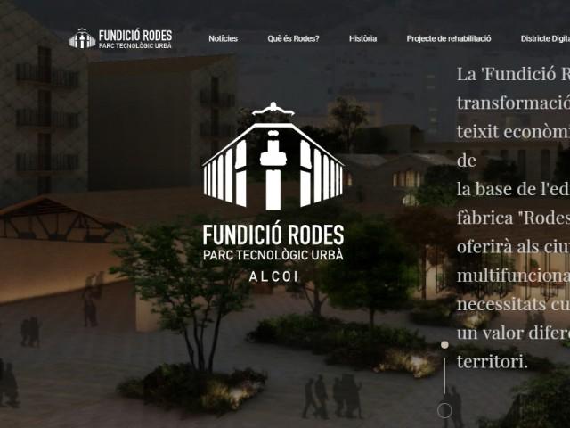 Pàgina principal de fundiciorodes.com